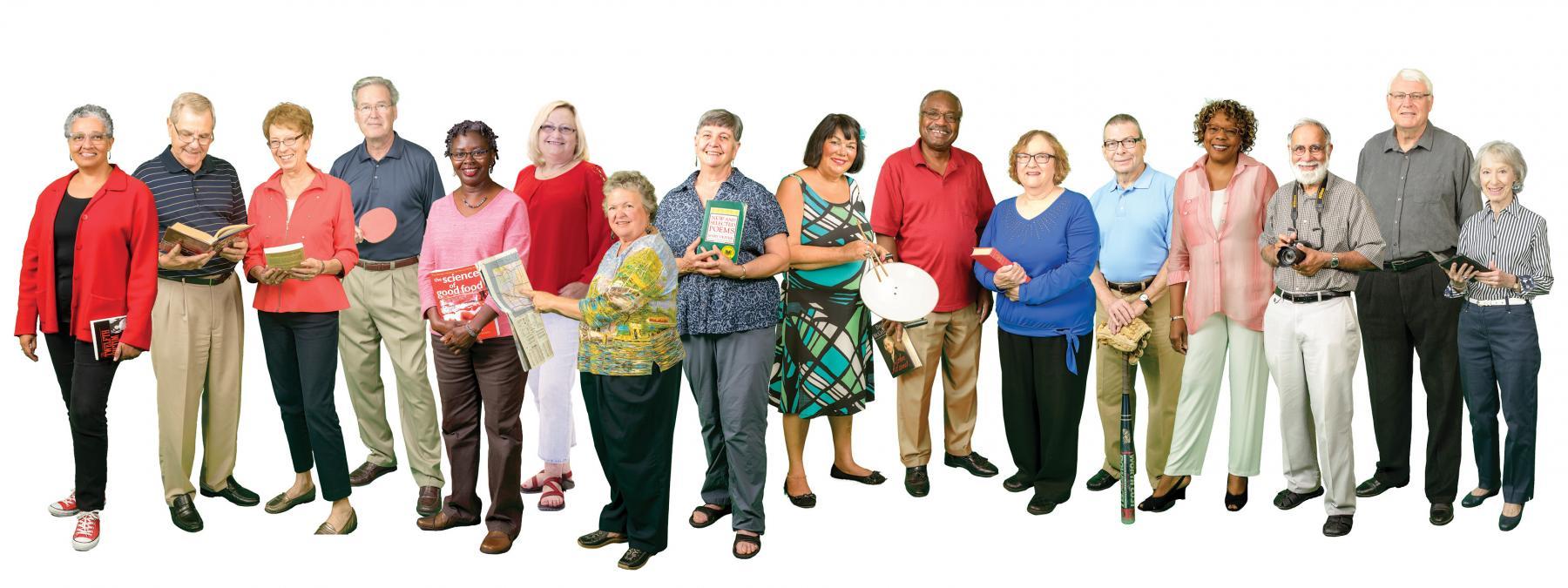 Group of OLLI Members